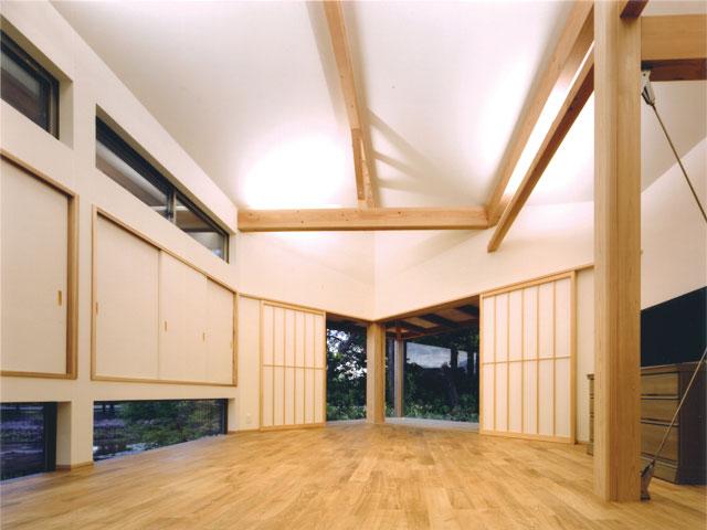 天神の家 Ⅱ 1Fリビング・サンルーム