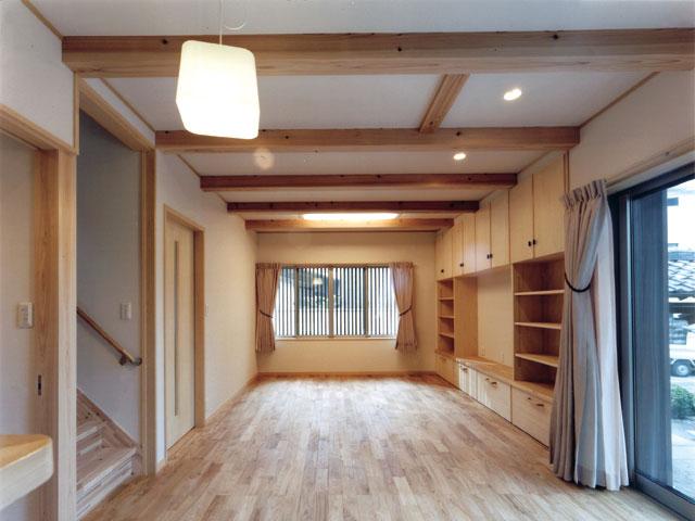 下海印寺の家 Ⅱ 1Fリビング